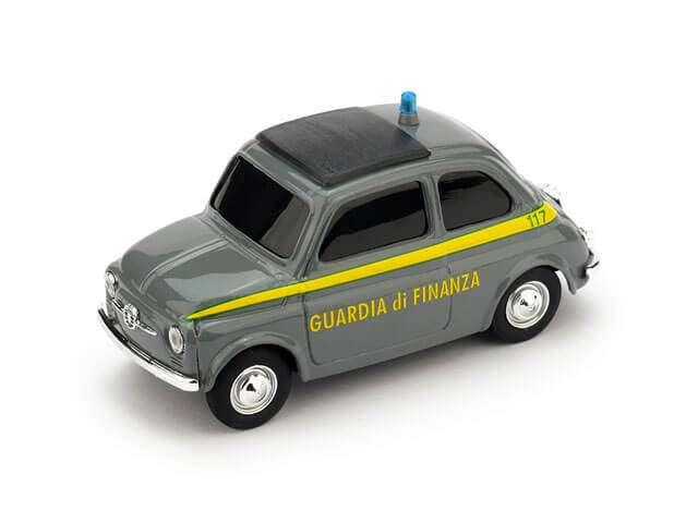Fiat 500 guardia di finanza - Importazione parallela