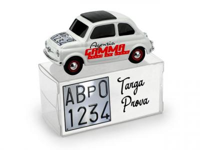 Targa Prova - Fiat 500