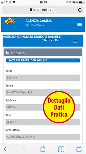 Dettagli Pratica